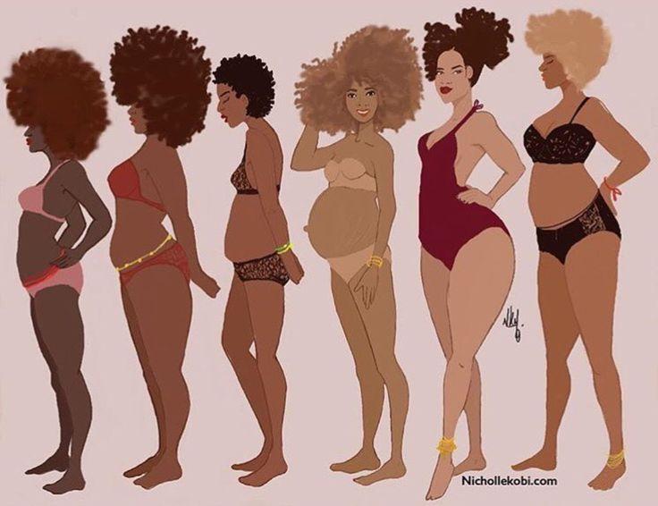 Black Women Natural Hair Types