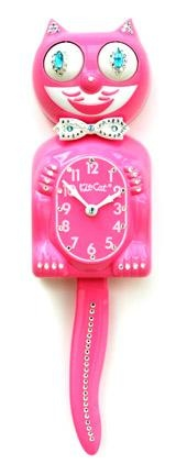Jeweled kit kat clock, I would love one for my house!