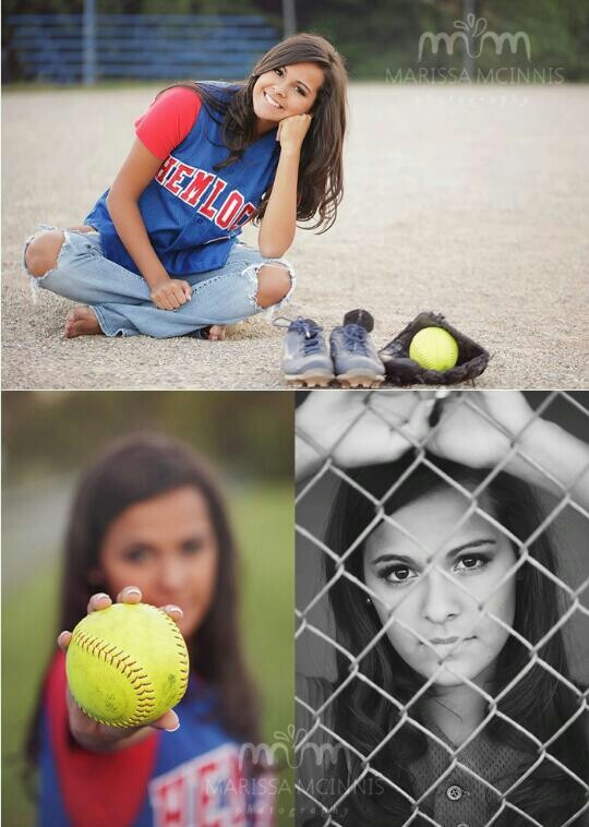 These such cute softball photos