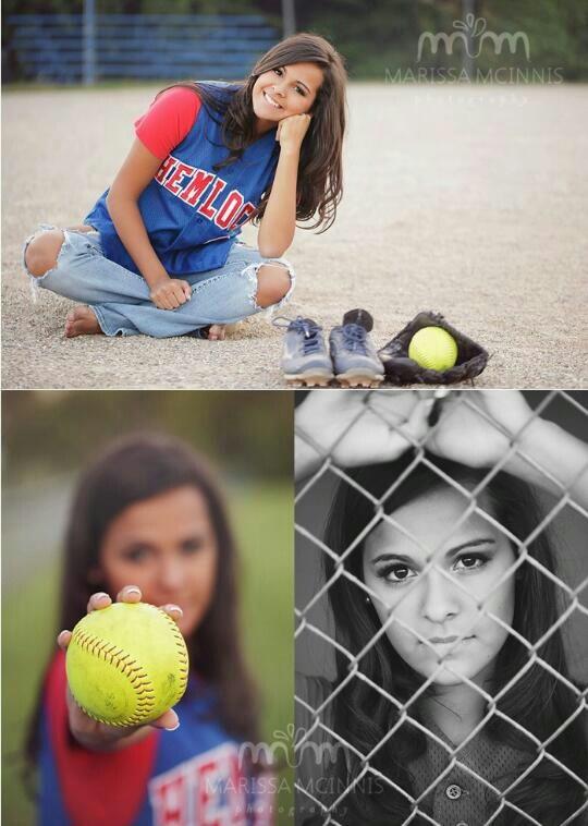 These such cute softball photos