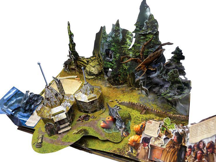 Hagrid's hut!! In pop-up form!!