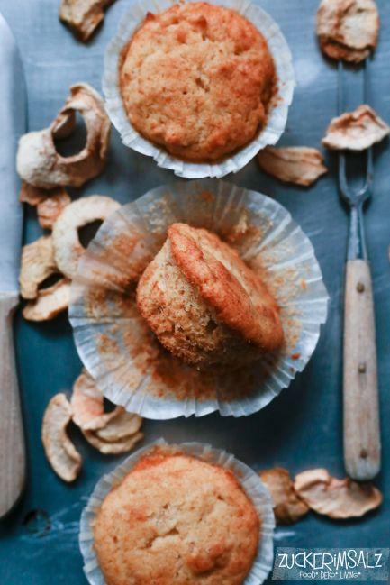 Können super weiche saftige Apfel Muffins wirklich lügen … kann man so kleine knuffige Teilchen wirklich nicht liebhaben … Hallooooo … … also mal Butter bei die Fische &#823…