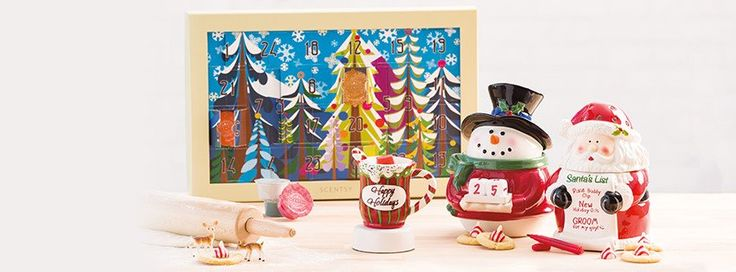 Each day holds a small, fragrant #gift – in the form of a wax or personal care sample. #holiday #calendar https://casies.scentsy.us/shop/p/40151/advent-calendar
