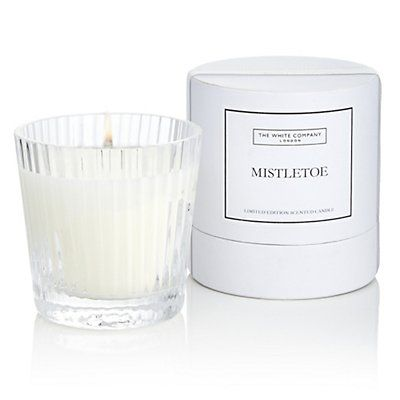 Mistletoe Candle | Candles | Home Fragrances | Candles & Fragrance | The White Company UK