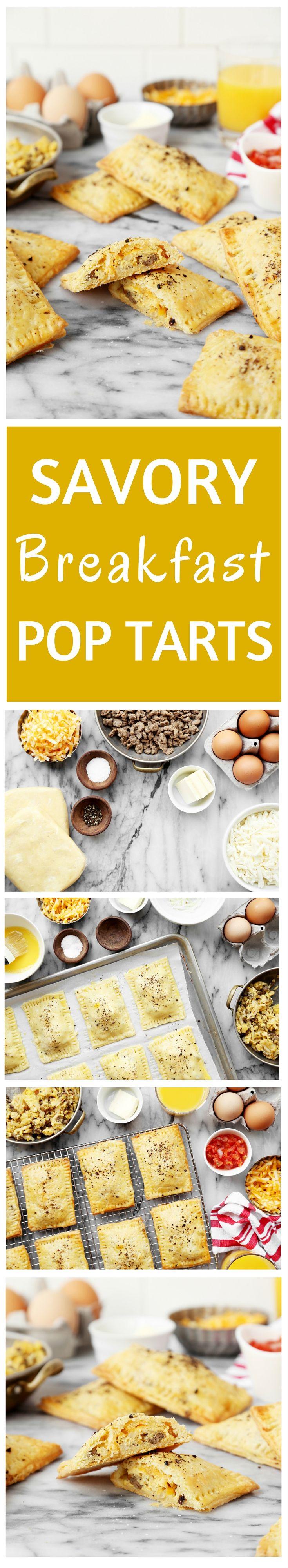 Savory Breakfast Pop Tarts
