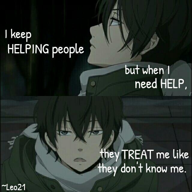 Haru Yoshida || My Little Monster || Anime Quote