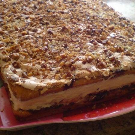 Egy finom Pani Walewska (lengyel sütemény) ebédre vagy vacsorára? Pani Walewska (lengyel sütemény) Receptek a Mindmegette.hu Recept gyűjteményében!