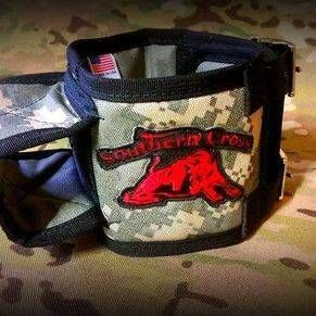 Made from the same materials as the standard Southern Cross Cut Collar, but with some additions that make it perfect for Alpha TT-10, TT-15 and Sport Dog Collars.  Heavy duty buckles, D-ring, nylon straps, velcro overlap, two extended loops for your track/train collars and professionally sealed holes that work perfectly with Garmin Alpha collars.  What really sets apart this collar though is the IMPACT GEL reinforced Tracking Collar Protector.  Two layers of 1000D, a layer of Kevlar and a…