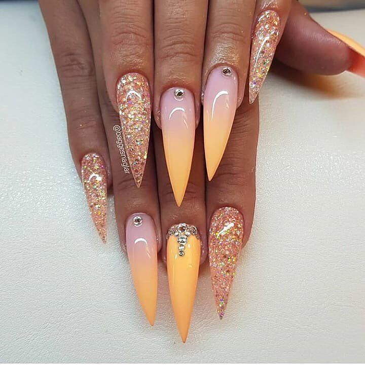 100 Best Nail Designs Colors For Spring 2019 With Images Long