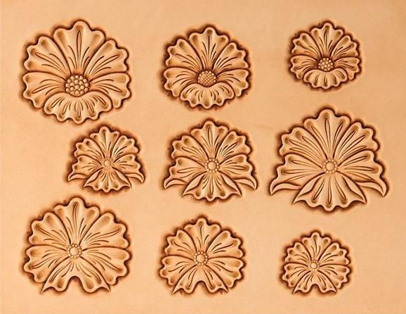 12 Best Tooled Leather Patterns Images On Pinterest