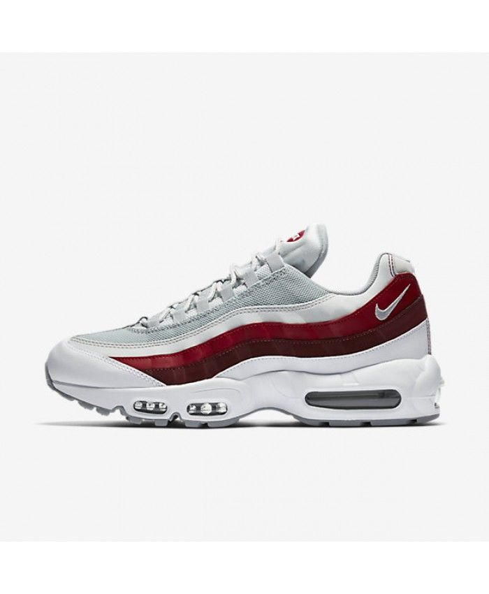 nouveaux styles 0d837 bf9bc buy nike air max 95 wolf grey red 18999 979c5