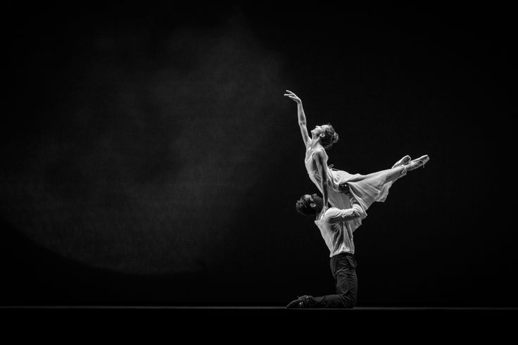 Last rehearsal. Dorothée Gilbert, Danseuse Étoile de l'Opéra National de Paris and Marcelo Gomez, Principal Dancer at the American Ballet Theatre, rehearsing Romeo & Juliet at the Lincoln Center in New York. Photography by James Bort