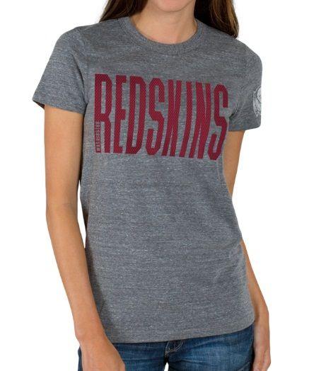 Women's Triblend Crew Washington Redskins T-Shirt: This Women's Triblend Crew Washington Redskins T-Shirt… #TShirts #CustomShirts #BandTees