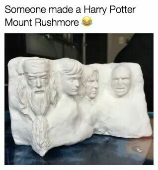 Why is Snape in it? It should be Hagrid!
