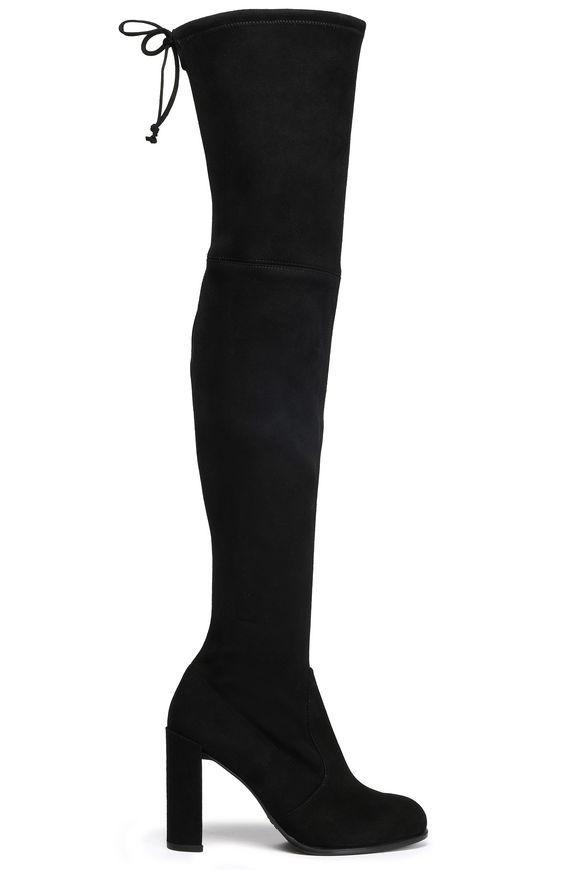 ca3f8bb3d07 STUART WEITZMAN Hiline suede over-the-knee boots