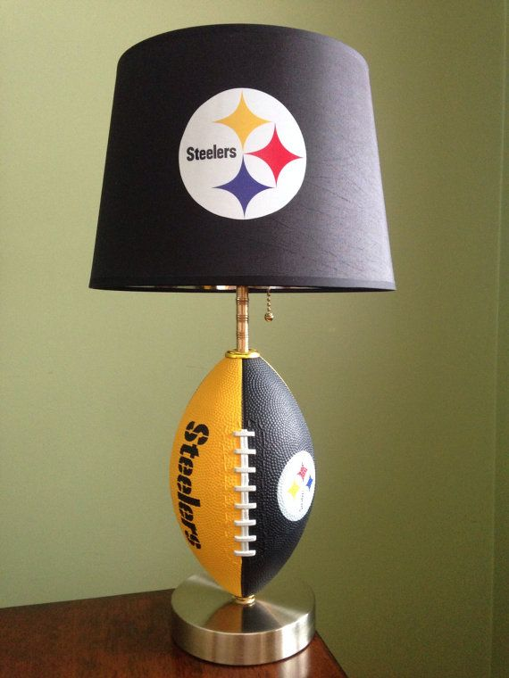 Pittsburgh Steelers football Lamp by thatlampguyGraz on Etsy