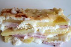 Parmigiana di Patate di facile esecuzione, economica e molto saporita. Conquista per il suo gusto delicato e per la cremosità conferita dalla besciamella.