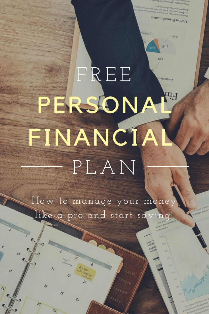Personal Financial Plan Example Manage Your Money Like A