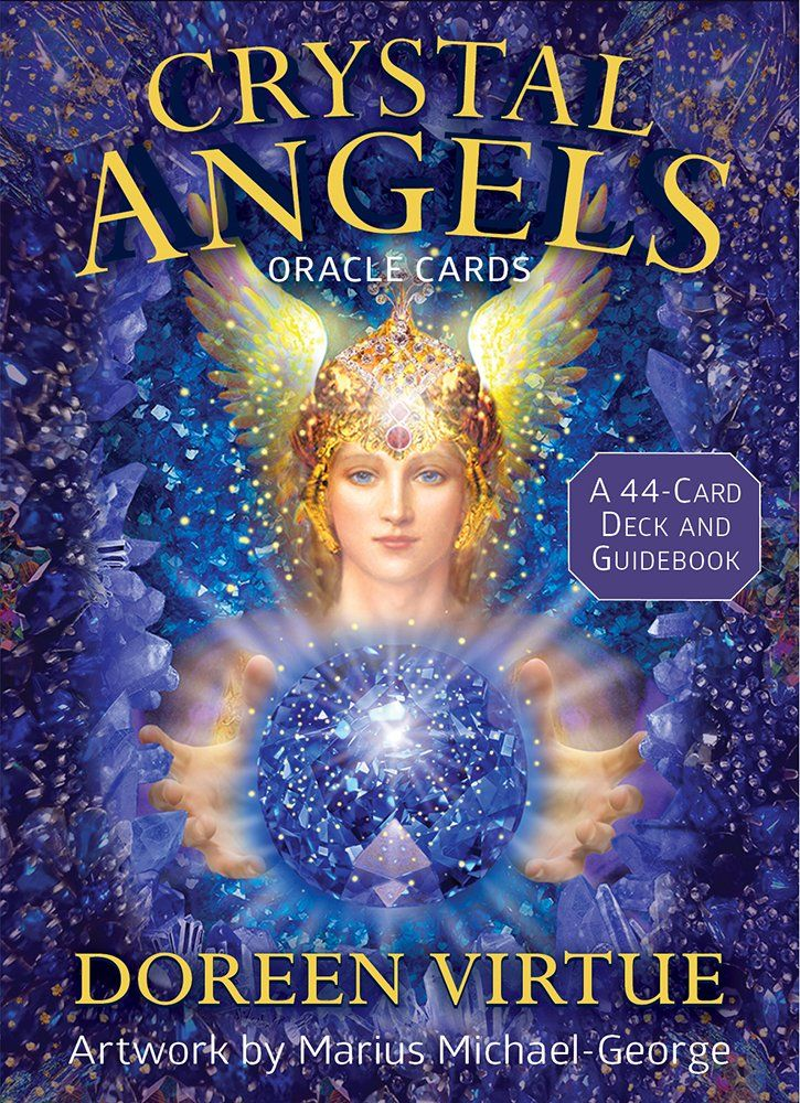 Crystal angels oracle cards a 44card deck and guidebook