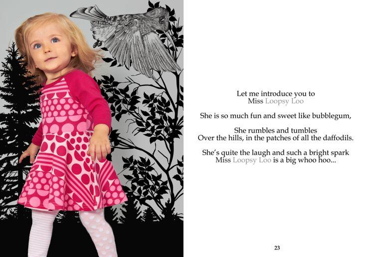 SOOKIbaby | AW'15 | Childrens Fashion | Worn by a Funky Monkey | www.sookibaby.com.au | LOOPSY LOO - Fit n Flare Dress
