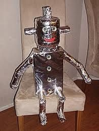 robot knutselen- Raar, maar waar.