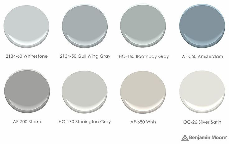 Birch Paint Palette - neutral Benjamin Moore paint colors recommended by Sarah Richardson