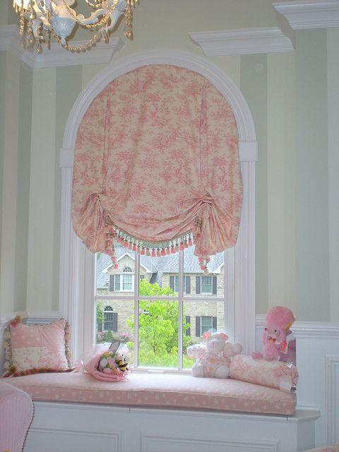 Custom Window Treatments For Arched Windows