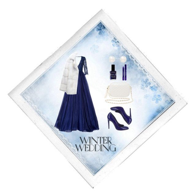 """Winter Wedding ❄"" by xanniee on Polyvore featuring Polaroid, Lilly e Violetta, Sergio Rossi, Charlotte Russe, Inner Circle Jewelry, Lauren B. Beauty and By Terry"