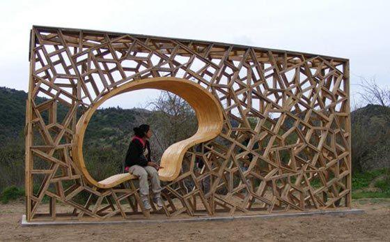 Schöner rasten – ergonomisch geformte Holzmodule « Lilli Green® - Magazin für nachhaltiges Design und Lifestyle