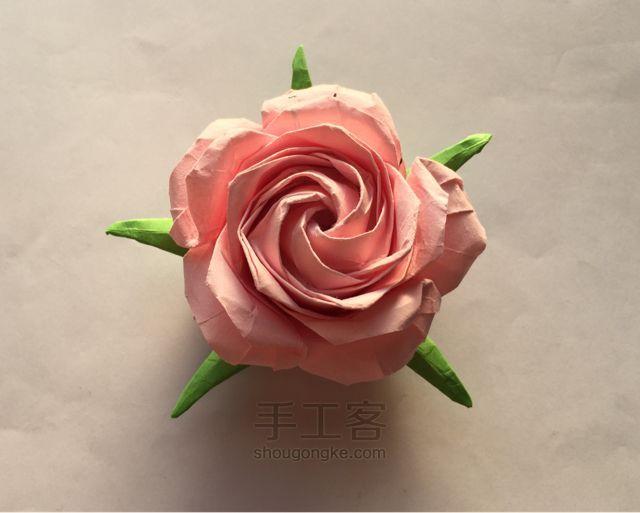 Sato öt gyártása rózsa origami bemutató