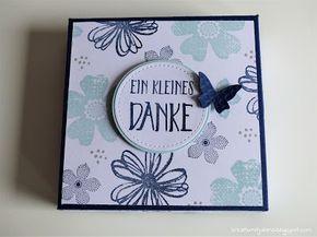 Stampin' Up! – Geschenkbox für Minipralinenverpackung mit Anleitung – Angelika Neudorfer