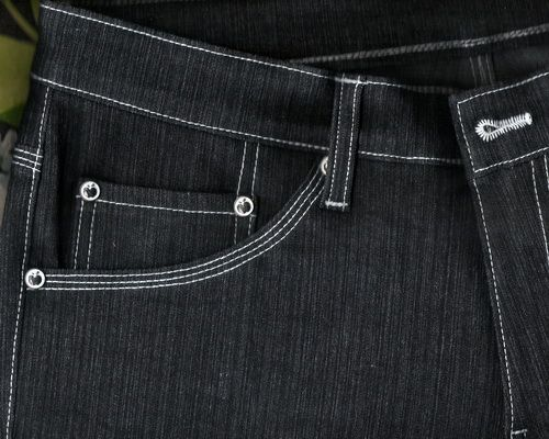 tripple stich denim | Jeans made from ring blue denim fabrics with triple stitch