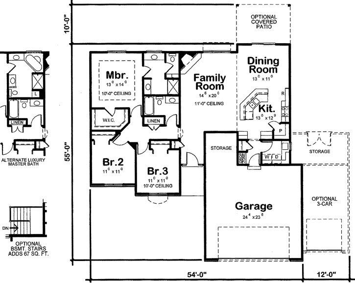 39 best kitchen floor plans images on pinterest floors for Country kitchen floor plans