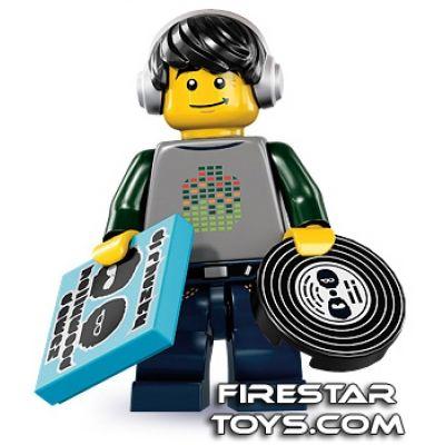 LEGO Minifigures - DJ | Minifigures Series 8 | Collectable LEGO Minifigures | Firestartoys.com
