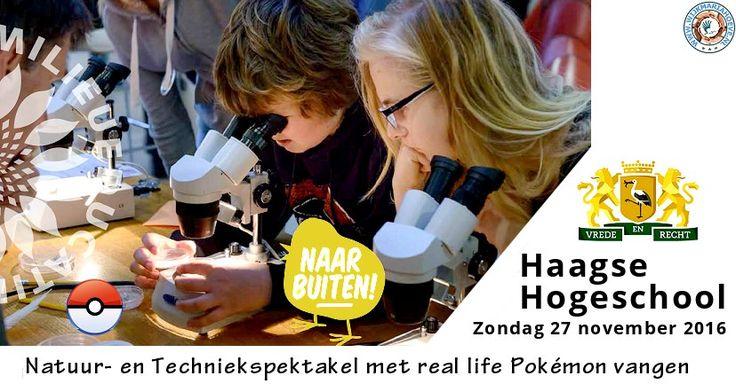 27 Nov - Natuur- en Techniekspektakel met real life Pokémon vangen - http://www.wijkmariahoeve.nl/natuur-en-techniekspektakel-pokemon/