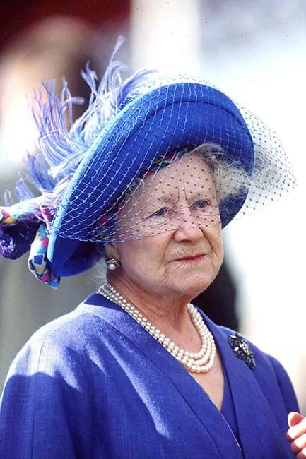 "The Queen Mother had such a wonderful collection of hats that her attendants would often try them on for fun. She found out and told the staff: ""I quite understand if you want to wear my hats and other things, but do try to put them back where you found them!"""