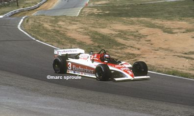 Mario Andretti - Lola T700 Cosworth - Newman-Haas Racing - LA Times/Budweiser 500 (Riverside  International Raceway) - 1983 PPG Indy Car World Series, round 8 - © Marc Sproule