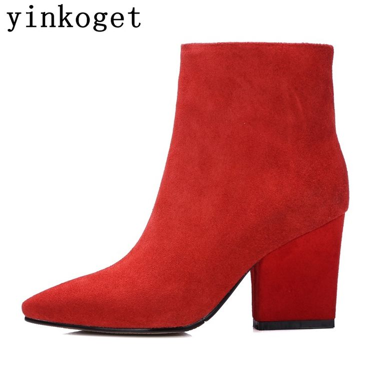http://babyclothes.fashiongarments.biz/  2017 New arrival genuine leather high heels pointed toe red bottom women boots fashion ankle boots casual party girl boots, http://babyclothes.fashiongarments.biz/products/2017-new-arrival-genuine-leather-high-heels-pointed-toe-red-bottom-women-boots-fashion-ankle-boots-casual-party-girl-boots/, 	    Please choose the size according to your foot length and width, if you do not know what size to choose, please contact us, we'll be happy to help you…