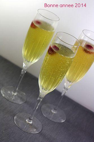 Cocktail Champagne, Verveine