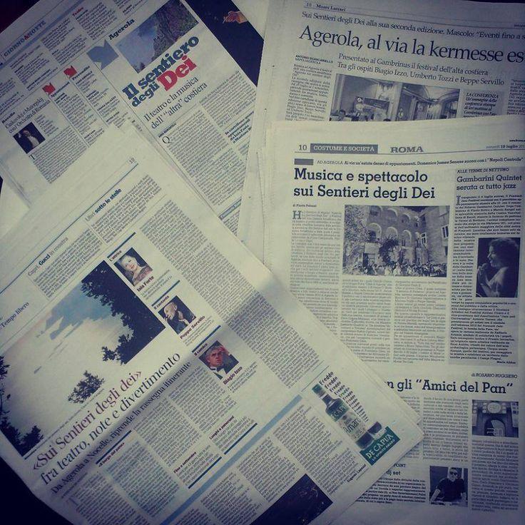 Rassegna stampa edizione 2013
