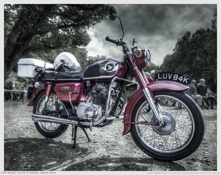 1972 Honda CD175 by Nigel Lomas on 500px