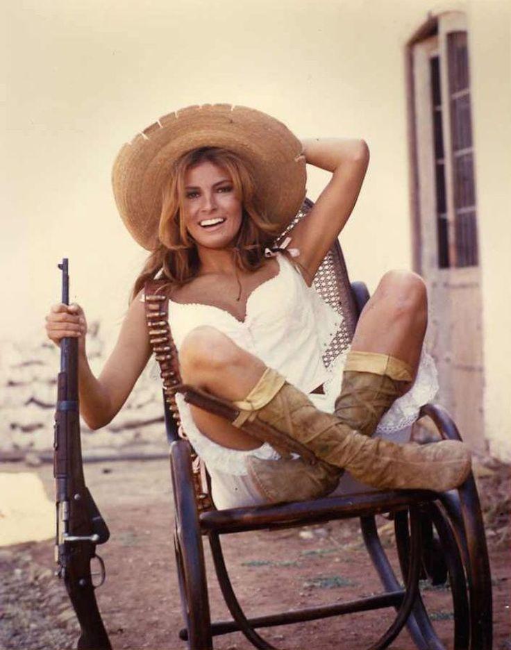 Renegade, Raquel Welch in 100 Rifles (1969)