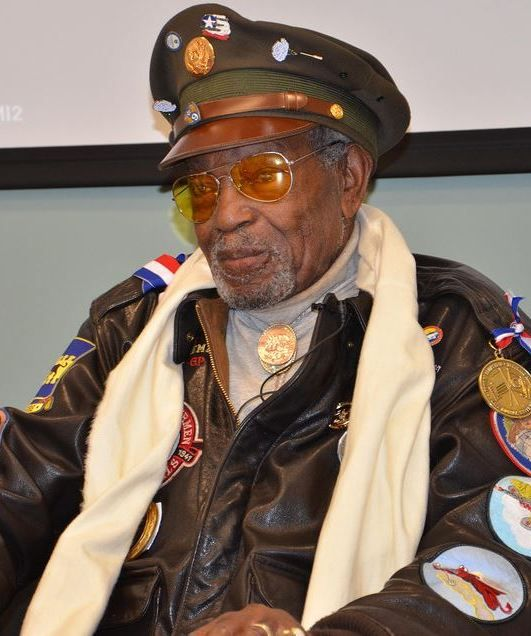 Tuskegee Airman, Congressional Gold Medal Recipient Julius T. Freeman,