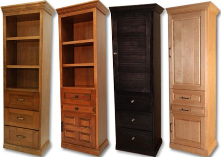Traditional Murphy Bed side cabinets - various styles