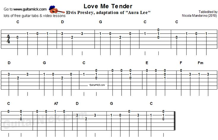 love me tender easy song for beginners guitar tab video lesson music in 2019 guitar. Black Bedroom Furniture Sets. Home Design Ideas