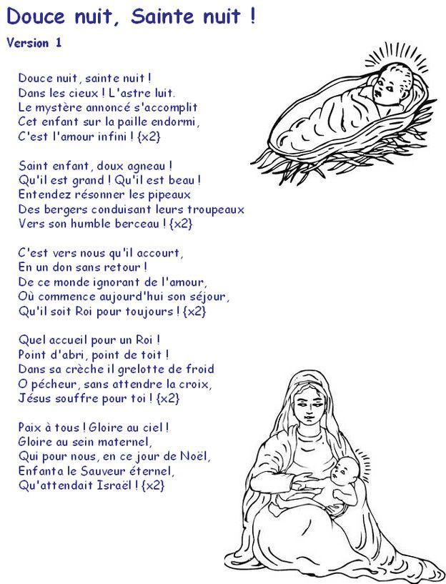 Une Chanson Douce Paroles Pdf : chanson, douce, paroles, Douce, Paroles, Chanson, Noel,, Texte, Chanson,, Comptines