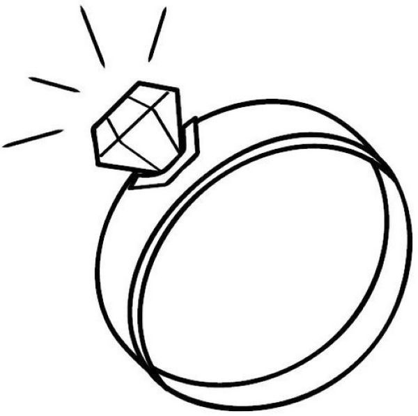 Wedding Rings Coloring Pages Printable Free Coloring Sheets Ring Sketch Coloring Pages Wedding Rings