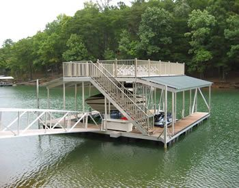 Casey Custom Docks Aluminum Boat Docks And Gangways