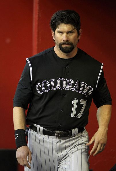 todd helton | Todd Helton Todd Helton #17 of the Colorado Rockies walks in the ...