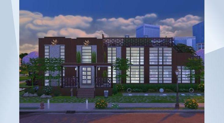 Découvrez ce terrain dans la Galerie LesSims4! - Voici ma nouvelle maison j'espère quèlle vous plairas.